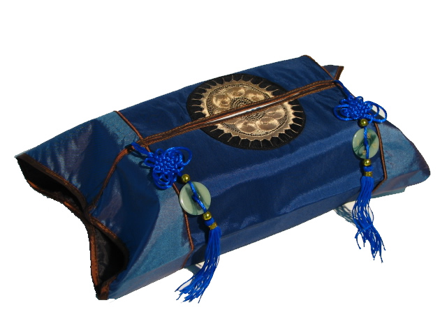 Tissue Box Cover - Blue