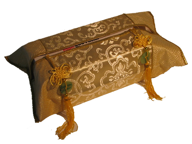 Tissue Box Cover - Golden Yellow
