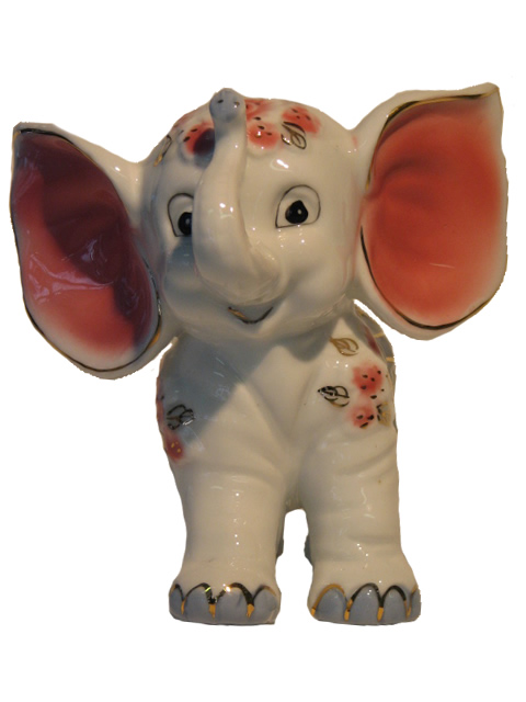 Small Animated Elephant with Large Ears