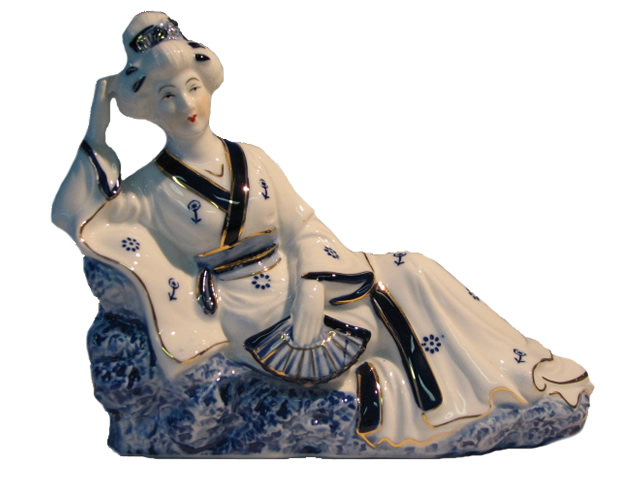 Reclining Asian Lady - Right
