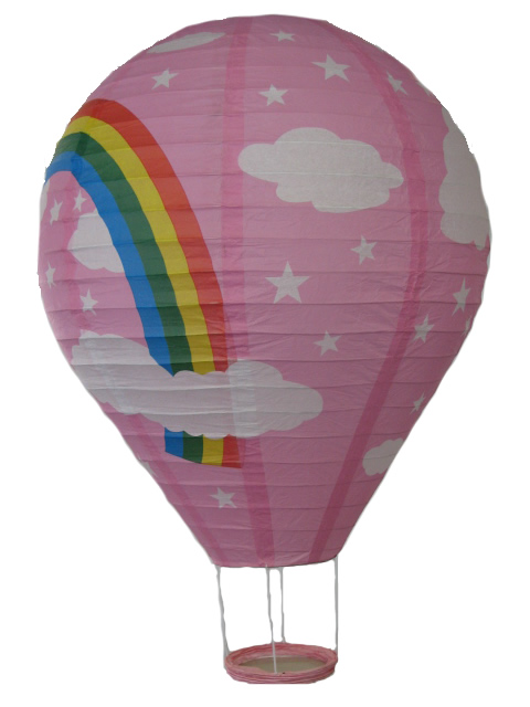 Paper Lantern - Hot Air Ballon Design