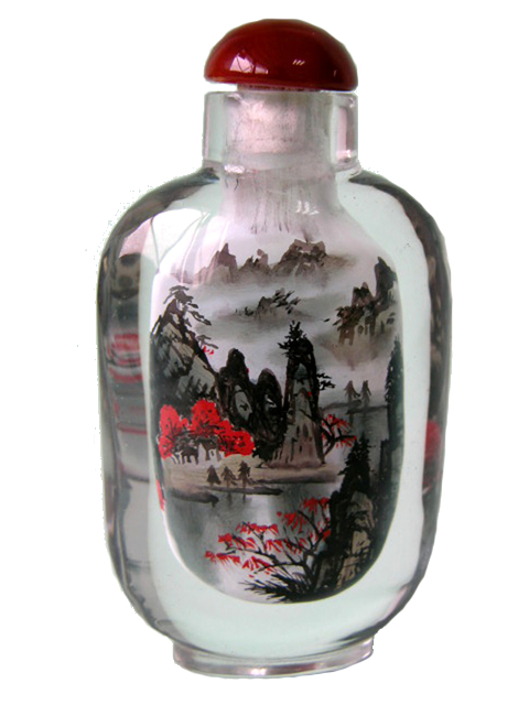 Medium Bottle - Landscape