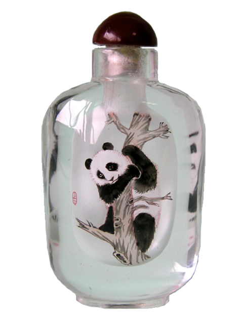 Medium Bottle - Pandas