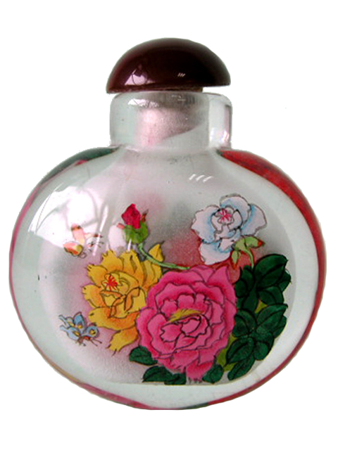 Small Bottle - Flowers 2