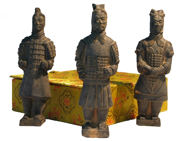 Entombed Warriors - 15 cm - 3 Piece Set