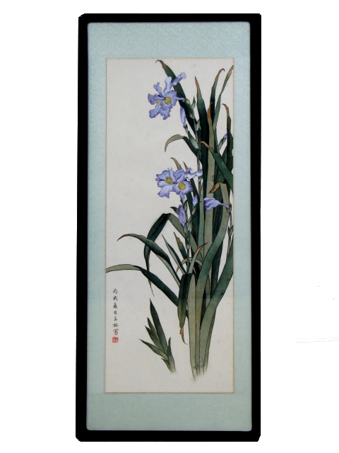 Traditional Chinese Art - Framed - Lillies