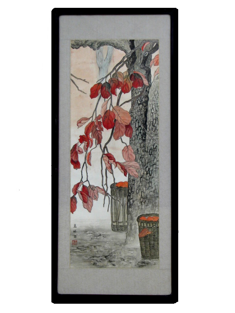 Traditional Chinese Art - Framed - Autumn