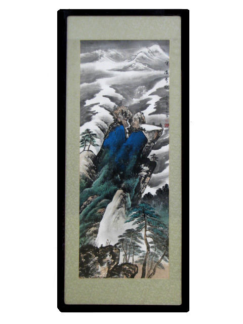 Traditional Chinese Art - Framed - Winter Snow